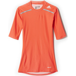 Vêtements Homme T-shirts manches courtes adidas Originals T-shirt  Techfit Chill Orange H orange