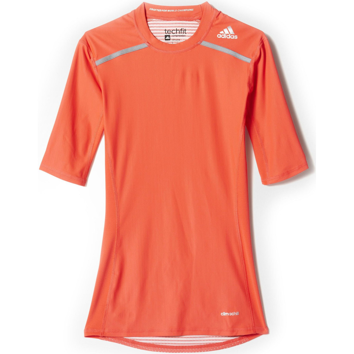 adidas Performance T-shirt Techfit Chill Adidas orange
