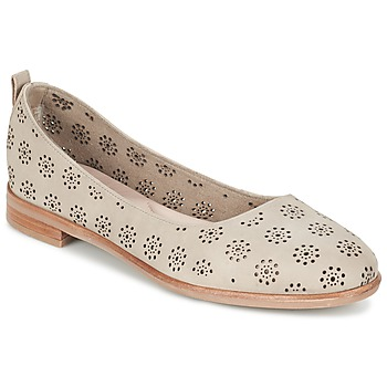 Chaussures Femme Ballerines / babies Clarks ALANIA ROSA Beige