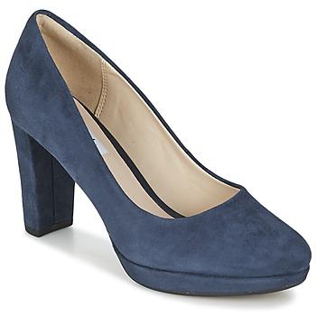 Chaussures Femme Escarpins Clarks KENDRA SIENNA Bleu