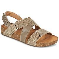 Chaussures Femme Sandales et Nu-pieds Clarks ROSILLA ESSEX Marron
