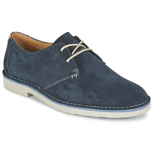 Chaussures Homme Derbies Clarks JARETH WALK Bleu