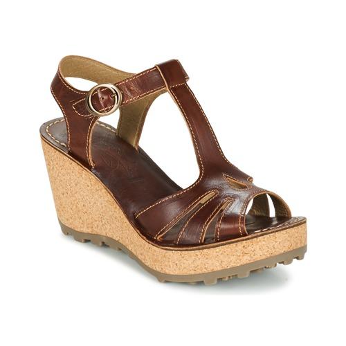 Chaussures Femme Sandales et Nu-pieds Fly London GOLDY Marron