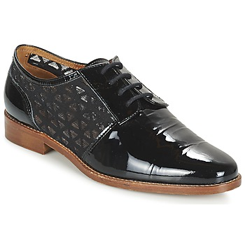 Chaussures Femme Derbies Heyraud ELEANA Noir