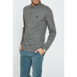 Vêtements Homme Polos manches longues Heroseven Polo Hero Seven Dd Polo Gris Chine Homme Gris