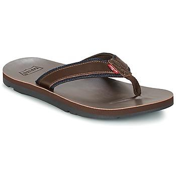 Chaussures Homme Tongs Levi's JURUPA Marron