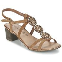 Chaussures Femme Sandales et Nu-pieds Lola Espeleta GENIAL Cognac