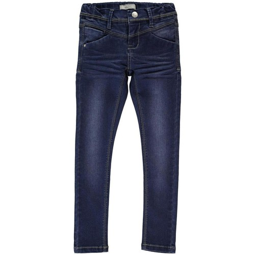 Vêtements Homme Jeans droit Name It Kids NITSUS INDIGO K SKINNY DNM PANT Bleu