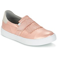 Chaussures Fille Slip ons Bullboxer ADJAGUE Rose / Or