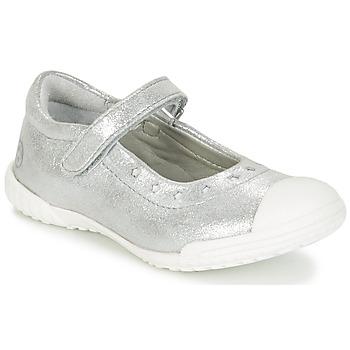 Chaussures Fille Ballerines / babies Mod'8 PRISCA Argenté