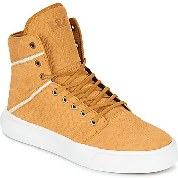 Chaussures Homme Baskets montantes Supra CAMINO Jaune