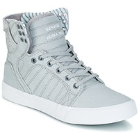Chaussures Baskets montantes Supra SKYTOP Gris