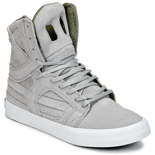 Chaussures Baskets montantes Supra SKYTOP II Gris