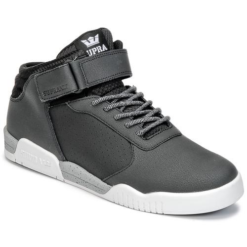 Chaussures Homme Baskets montantes Supra ELLINGTON STRAP Noir