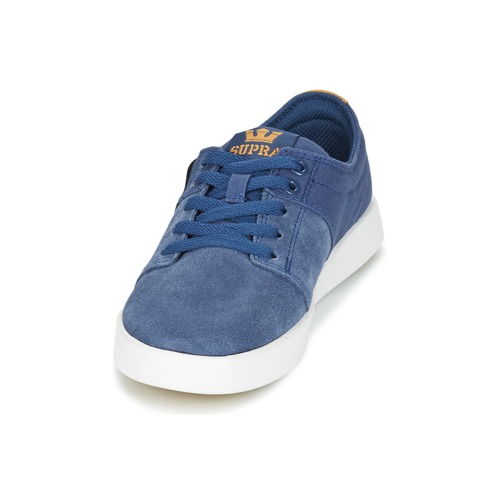 Chaussures Stacks Ii Bleu Supra Baskets Basses wnPk8NX0O