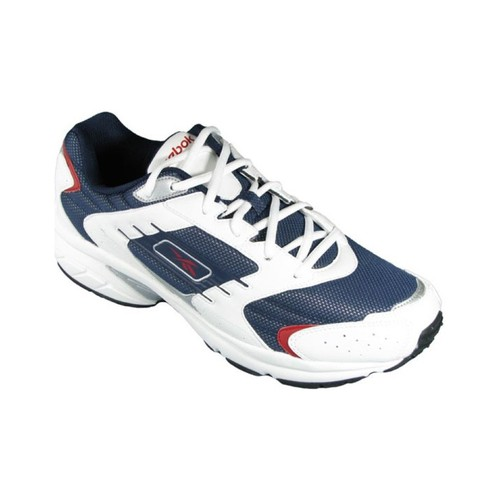Baskets mode Reebok CT Runner Iii Blanc-Bleu marine 350x350