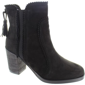 Chaussures Femme Bottines Cara London Scorch Noir