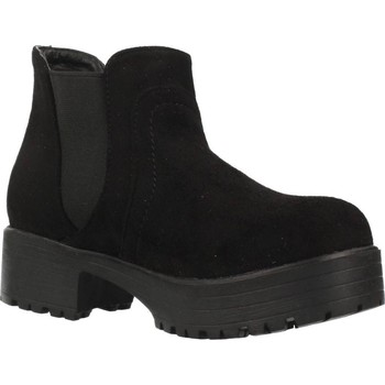 Chaussures Fille Bottines Different 4216 Noir