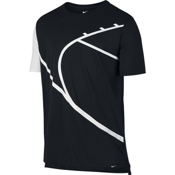 Vêtements Homme T-shirts manches courtes Nike Core Art 4 Black / White