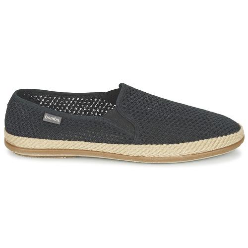 Rejilla Chaussures Bamba Trenza Espadrilles Copete Victoria Noir By Homme Elastico BedCxo