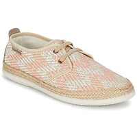 Chaussures Femme Baskets basses Bamba By Victoria BLUCHER TEJIDO ZIG-ZAG Saumon
