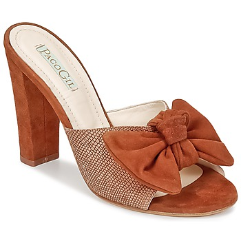 Chaussures Femme Mules Paco Gil BRAZIL Marron