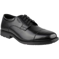Chaussures Homme Derbies Rockport Essential DTL WP Cap Toe Black