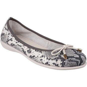 Chaussures Femme Ballerines / babies The Flexx Miss Italia Calcutta Grey