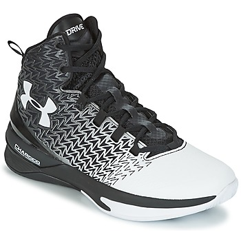 Chaussures Homme Basketball Under Armour UA ClutchFit Drive 3 Noir / Blanc