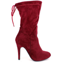 Chaussures Femme Bottes Cendriyon Bottes Bordeaux Chaussures Femme, Bordeaux