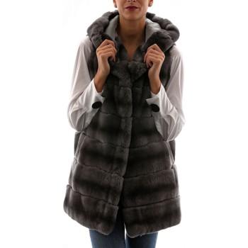 Vêtements Femme Gilets / Cardigans Sam-rone 16R03 Gris Gris