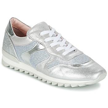 Chaussures Fille Baskets basses Unisa DAYTONA Argent