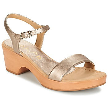 Chaussures Femme Sandales et Nu-pieds Unisa IRITA Doré