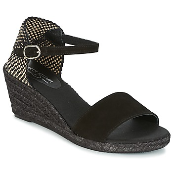 Chaussures Femme Espadrilles Elizabeth Stuart TREVISE Noir