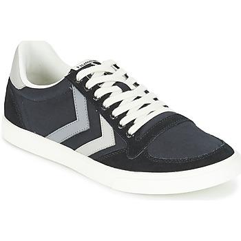 Chaussures Baskets basses Hummel TEN STAR DUO CANVAS LOW Noir / Gris