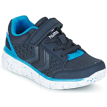 Chaussures Enfant Baskets basses Hummel CROSSLITE JR Marine