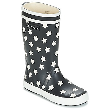 Chaussures Enfant Bottes de pluie Aigle LOLLY POP PRINT Marine