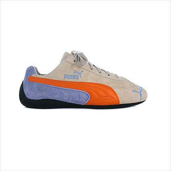 Chaussures Enfant Baskets basses Puma Speed Cat Bleu-Creme-Orange