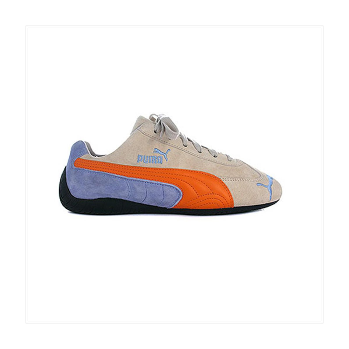 Puma Speed Cat Bleu-Creme-Orange