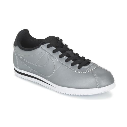 Chaussures Garçon Baskets basses Nike CORTEZ PREMIUM JUNIOR Gris
