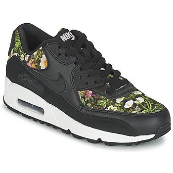 Chaussures Femme Baskets basses Nike AIR MAX 90 SE W Noir