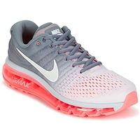 Chaussures Femme Running / trail Nike AIR MAX 2017 Gris / Rose