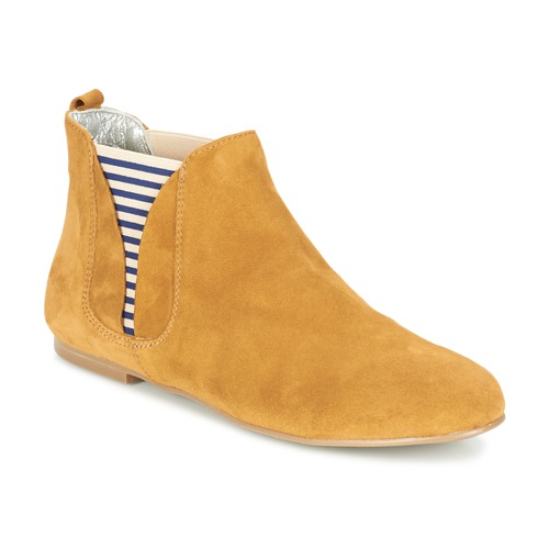 Chaussures Femme Boots Ippon Vintage SUN FLYBOAT Ocre