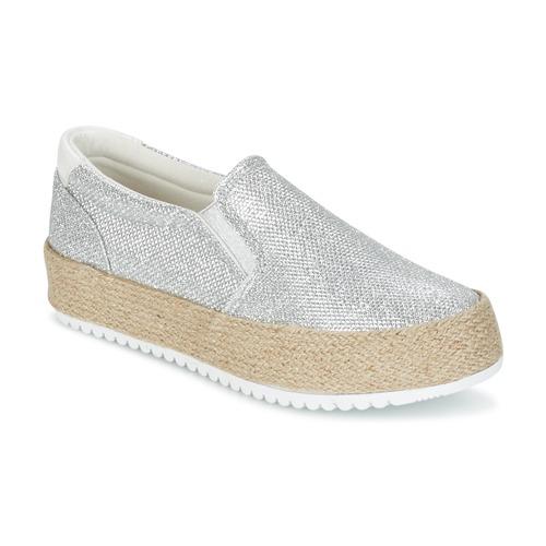 Chaussures Femme Slip ons MTNG MAREN Argenté
