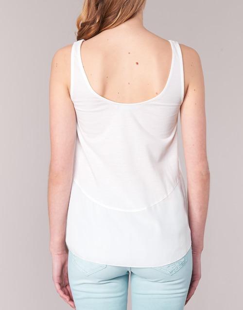ROMINESSA  Desigual  débardeurs / t-shirts sans manche  femme  blanc