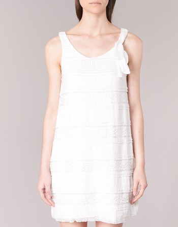 Keraso Robes Desigual Blanc Vêtements Femme Courtes WEDIH29