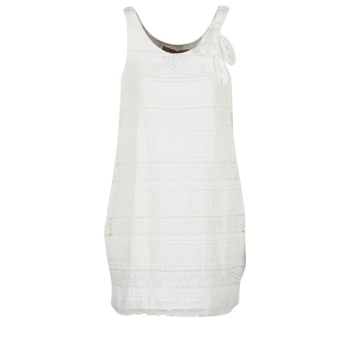 Vêtements Femme Robes courtes Desigual KERASO Blanc