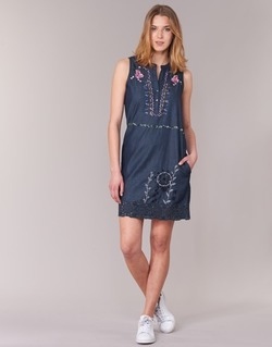 Vêtements Femme Robes courtes Desigual LIRASE Bleu