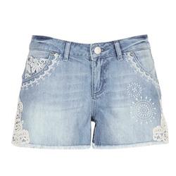 Vêtements Femme Shorts / Bermudas Desigual MARTESSA Bleu