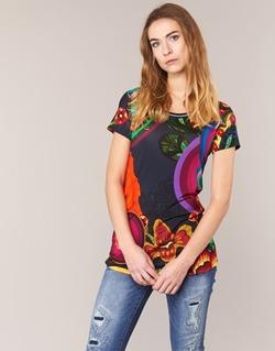 Vêtements Femme T-shirts manches courtes Desigual GRIZILLO Multicolore